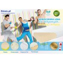 Materac  Hevea Fitness Cosmo Wysokoelastyczny Lateksowy Antyalergiczny Rehabilitacyjny + Mega Gratisy