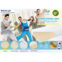 Materac Hevea Fitness Wysokoelastyczny Lateksowy Antyalergiczny Rehabilitacyjny + Mega Gratisy