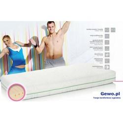 Materac Hevea Fitness Cosmo 100x200 cm Wysokoelastyczny Lateksowy Antyalergiczny Rehabilitacyjny + Mega Gratisy