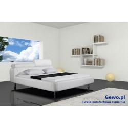 Łóżko tapicerowane do sypialni Gewo 126 200x200 cm