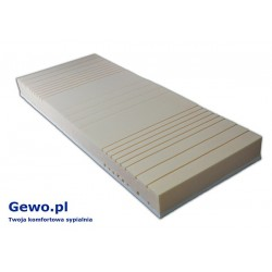 Materac Hevea Fitness Latex 120x200 cm Wysokoelastyczny Lateksowy Antyalergiczny Rehabilitacyjny + Mega Gratisy