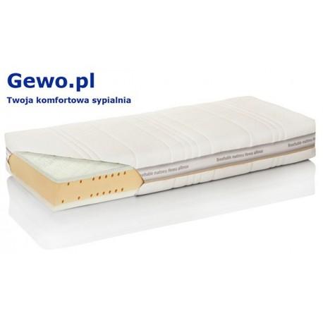 Materac Hevea Thermomagic Wysokoelastyczny Lateksowy Antyalergiczny Rehabilitacyjny + Mega Gratisy