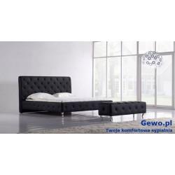 Łóżko tapicerowane do sypialni Gewo 129 100x200 cm