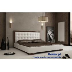Łóżko tapicerowane do sypialni Gewo 117 120x200 cm
