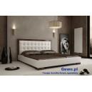 Łóżko tapicerowane do sypialni Gewo 117 180x200 cm