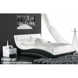 Łóżko tapicerowane do sypialni Gewo 148 140x200 cm