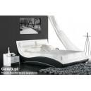 Łóżko do Sypialni Tapicerowane ze skóry eco loop