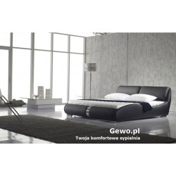 Łóżko tapicerowane do sypialni Gewo 147 140x200 cm