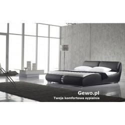 Łóżko tapicerowane do sypialni Gewo 147 160x200 cm