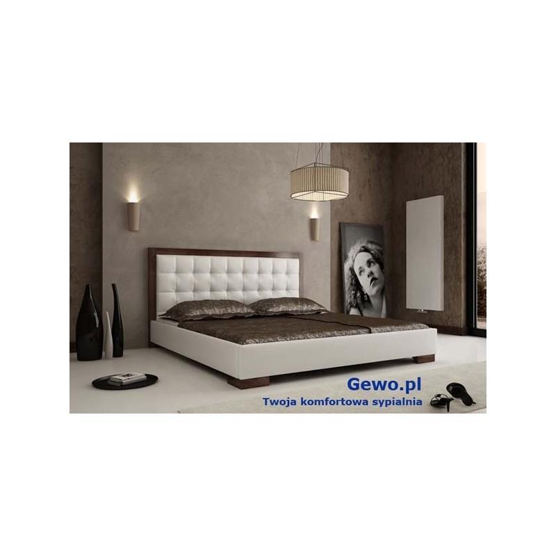 łóżko Tapicerowane Do Sypialni Gewo 118 220x200 Cm Z Pojemnikiem Na Pościel