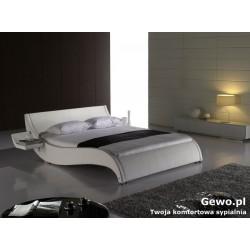 Łóżko tapicerowane do sypialni Gewo 163 140x200 cm