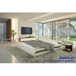Łóżko tapicerowane do sypialni Gewo 100