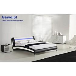 Łóżko tapicerowane do sypialni Gewo 203 180x200 cm