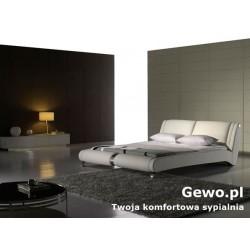 Łóżko tapicerowane do sypialni Gewo 201 90x200 cm