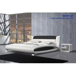 Łóżko tapicerowane do sypialni Gewo 166 180x200 cm