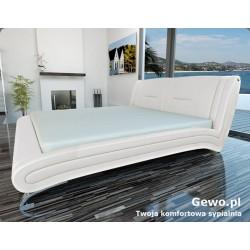 Łóżko tapicerowane do sypialni Gewo 161 200x200 cm