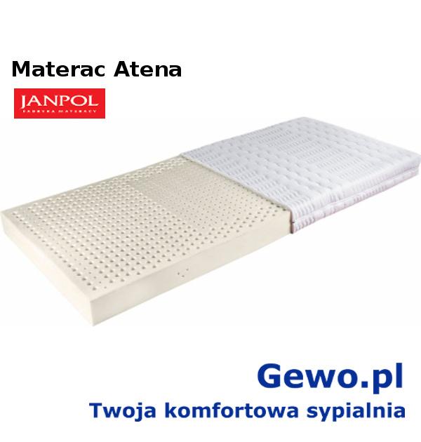 materac janpol atena lateksowy rehabilitacyjny