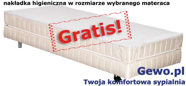 gratis nakładka higieniczna do materaca janpol posejdon