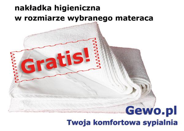gratis nakładka higieniczna do materaca janpol aurora