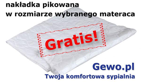 gratis nakładka pikowana do materaca janpol Vita 180x200 cm
