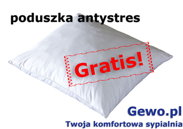 gratis poduszka antystresowa do materaca janpol aurora