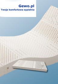 materac merita megal H3 140x 200 lateksowy