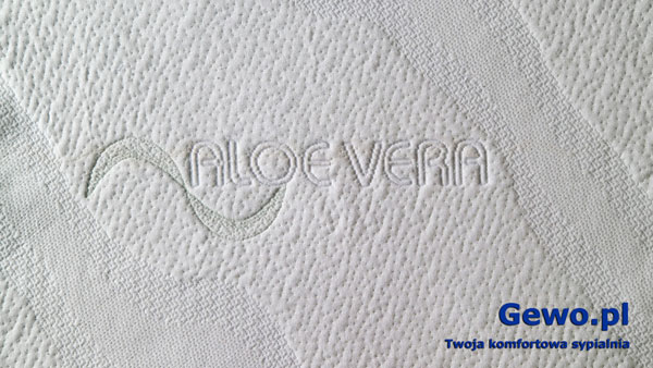 Pokrowiec Aloe Vera do materaca andromeda 90x200