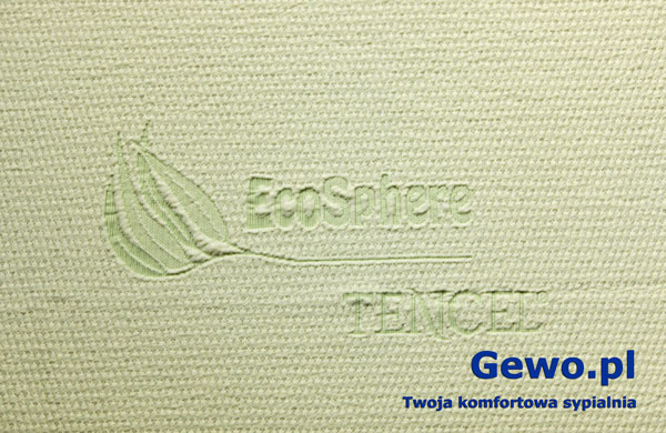 Pokrowiec na materac andromeda 90x200 ecosphere tencel